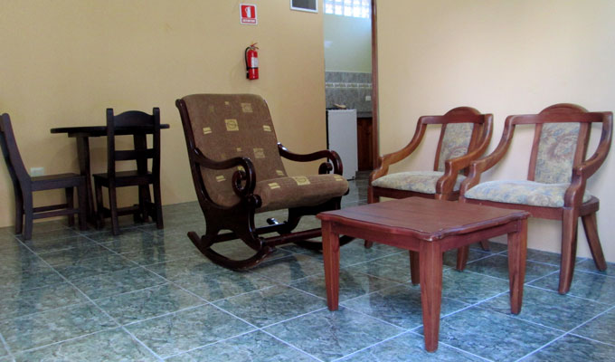 Apartment 3 - Social Area - Guest House Galapagos